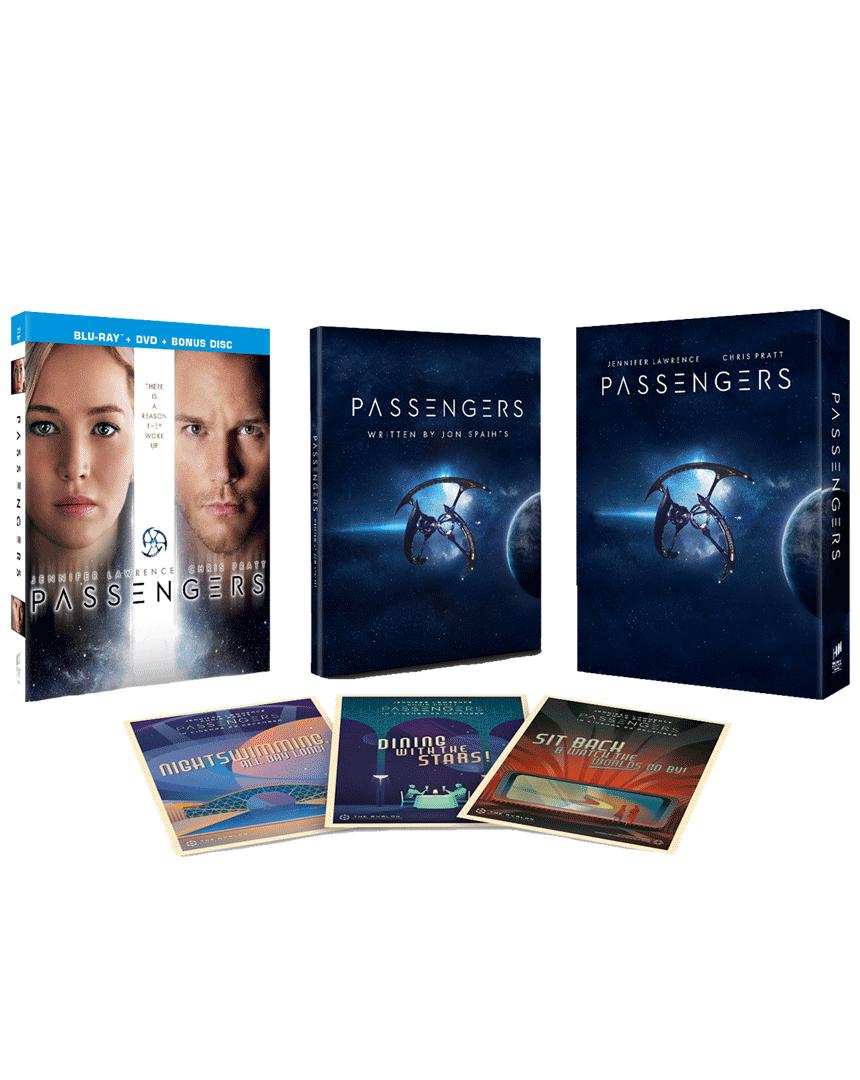 Pasažéři (Blu-ray, Speciální edice se scénářem a pohlednicemi)