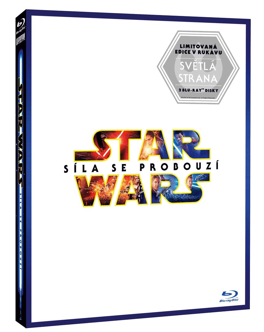 """Star Wars: Síla se probouzí (Blu-ray, rukávek """"Světlá strana"""")"""