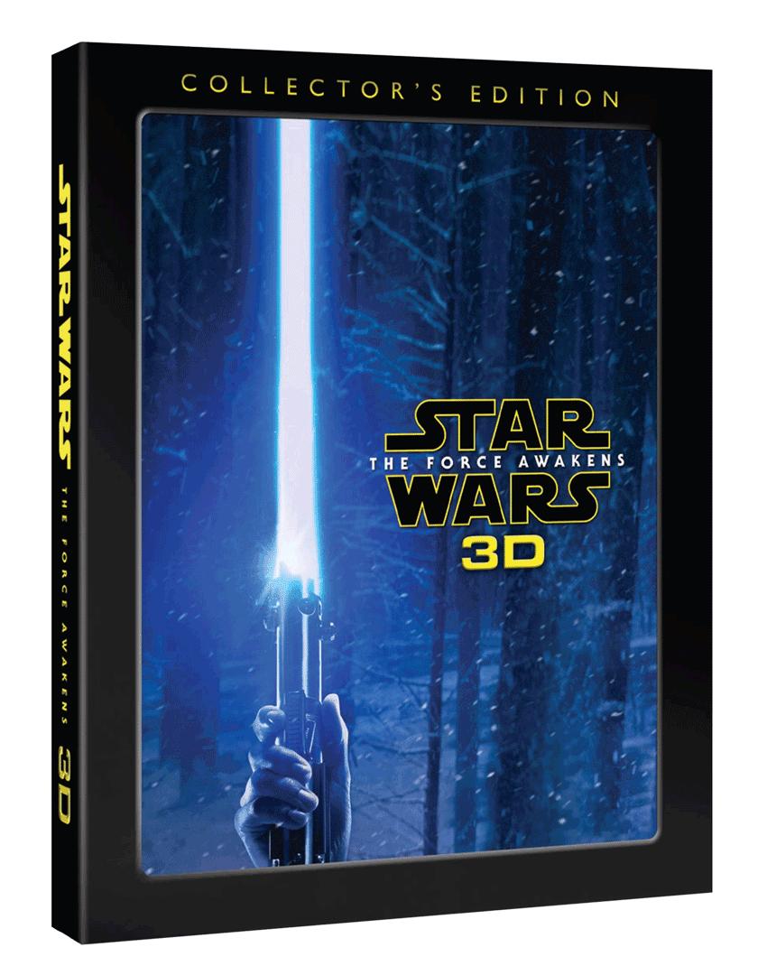 Star Wars: Síla se probouzí (Blu-ray 3D, sběratelská edice)